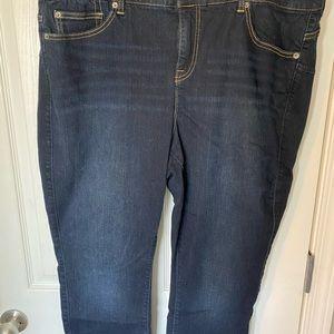 Torrid Bombshell Skinny Jeans - Dark Wash